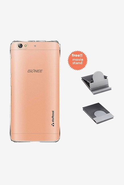 Stuffcool Clair Back Case for Gionee S6 (Clear)