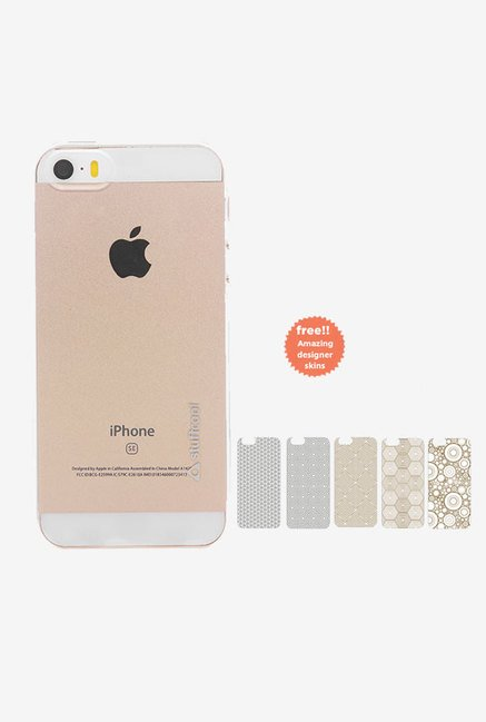 Stuffcool Pure Back Case for Apple iPhone 5/5S/SE (Clear)