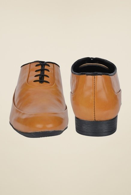 DaMochi Famos Camel Formal Shoes