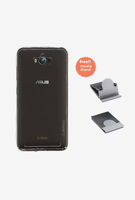 Stuffcool Pure Back Case for Asus Zenfone Max (Clear)