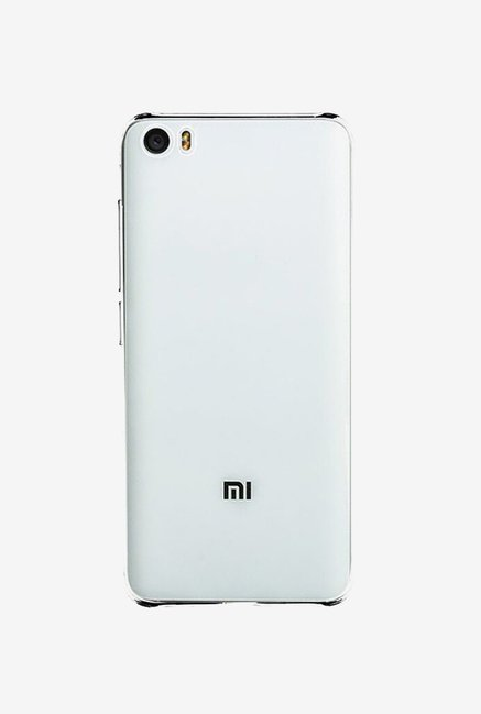 Stuffcool Back Case for Xiaomi Mi 5 (Clear)