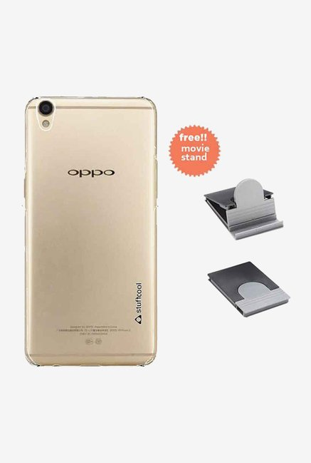 Stuffcool Back Case for Oppo R9 (Clear)