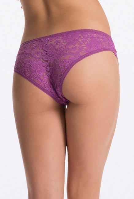 PrettySecrets Aqua & Purple Lacy Hipster (Pack of 2)
