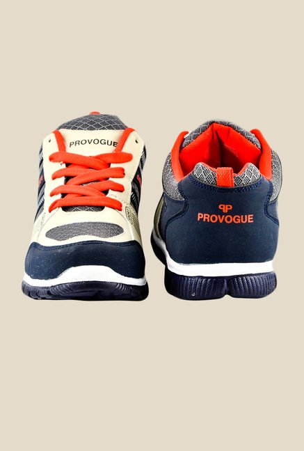Provogue Navy & Red Sneakers