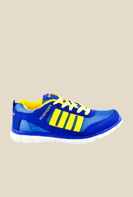 Provogue Blue & Yellow Sneakers