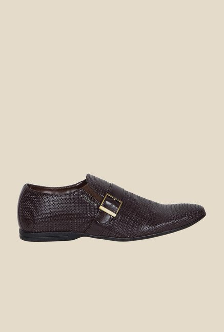 Provogue Brown Monk Shoes