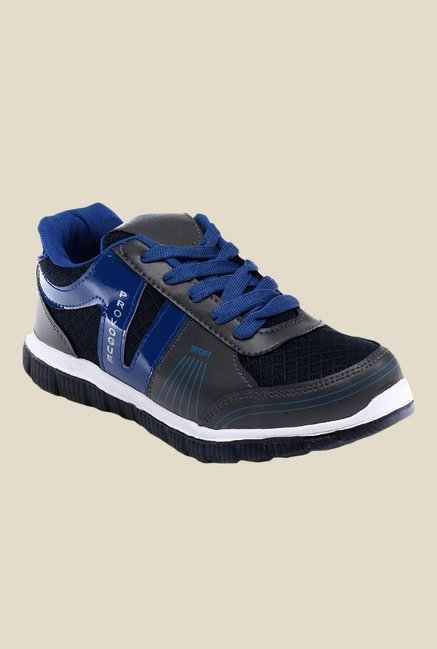 Provogue Grey & Blue Sneakers
