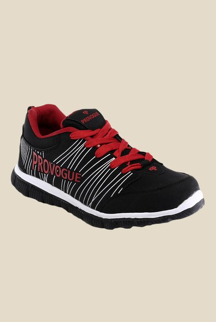 Provogue Black & Red Sneakers