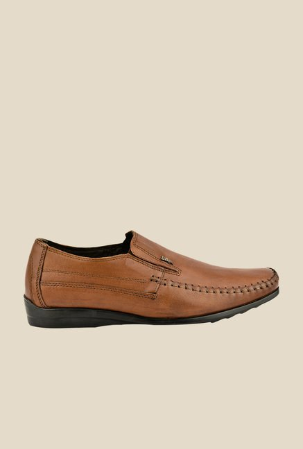 Lee Cooper Brown Formal Slip-Ons