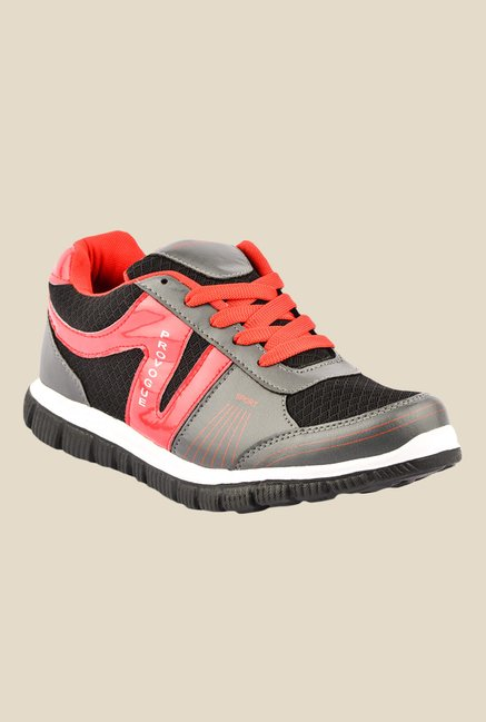Provogue Grey & Red Sneakers