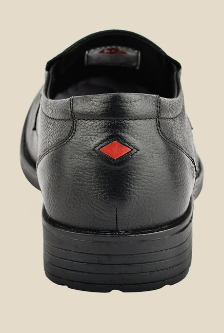 Lee Cooper Black Formal Slip-Ons