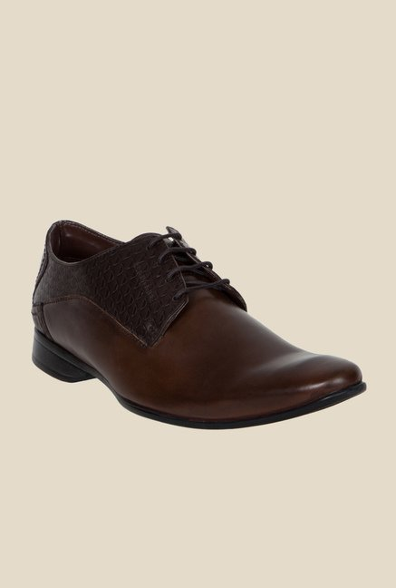 Provogue Brown Derby Shoes