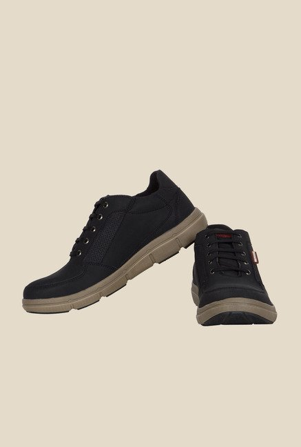 Provogue Black Casual Shoes