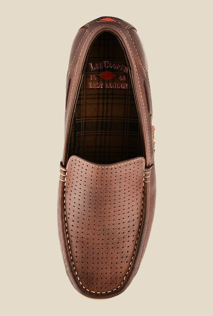 Lee Cooper Brown Casual Loafers