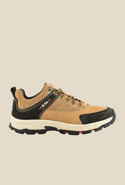 Lee Cooper Camel & Black Casual Shoes