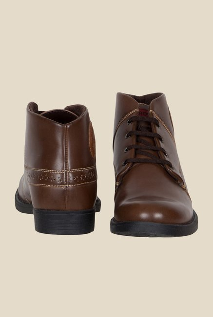 Provogue Brown Causal Boots