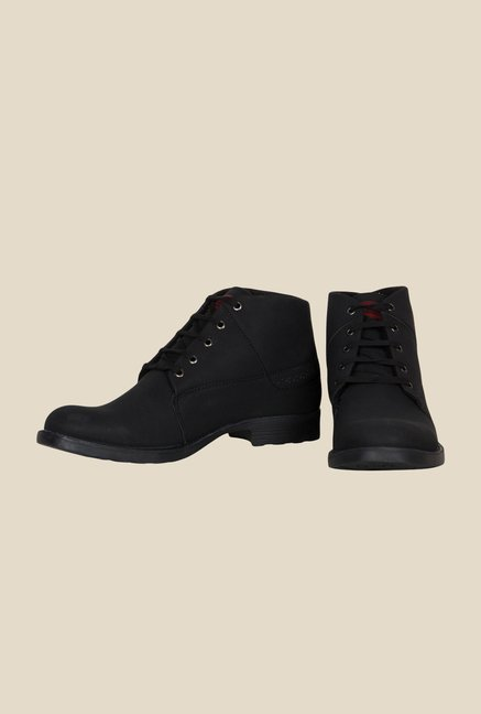 Provogue Black Causal Boots