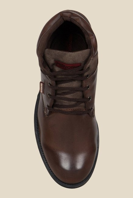 Provogue Brown Biker Boots