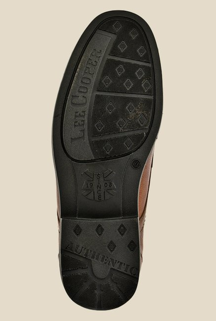 Lee Cooper Brown Derby Shoes