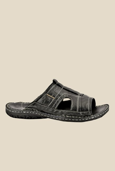 Lee Cooper Black Casual Sandals