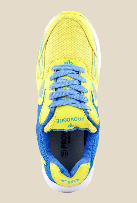 Provogue Yellow & Blue Sneakers