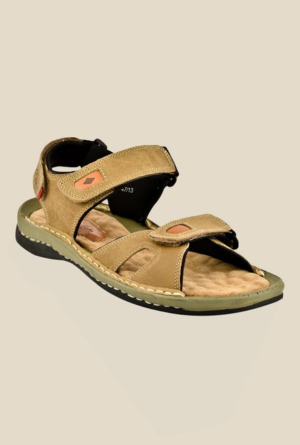 Lee Cooper Tan Floater Sandals
