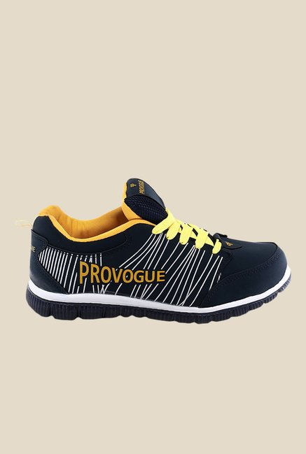 Provogue Navy & Yellow Sneakers