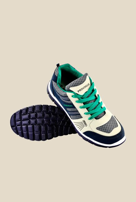 Provogue Navy & Green Sneakers