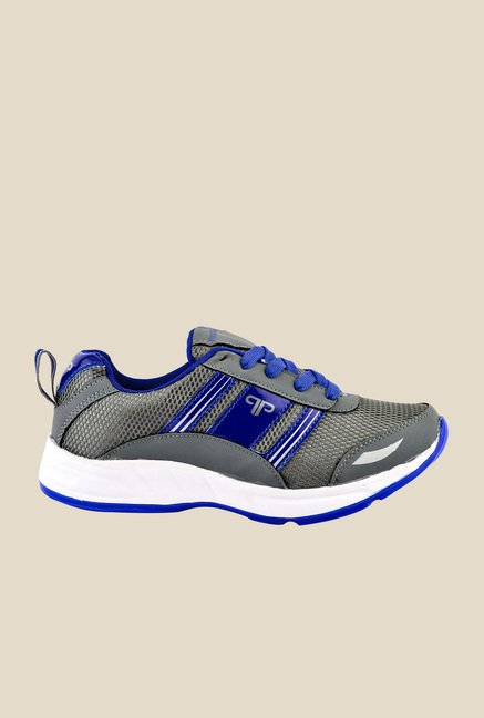 Provogue Grey & Blue Running Shoes