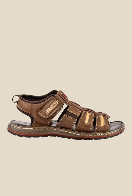 Lee Cooper Brown Fisherman Sandals