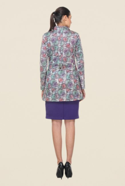Kaaryah Multicolor Printed Coat