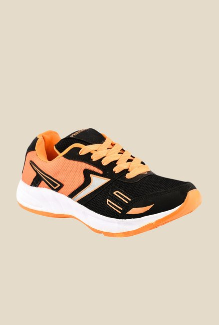 Provogue Black & Orange Running Shoes