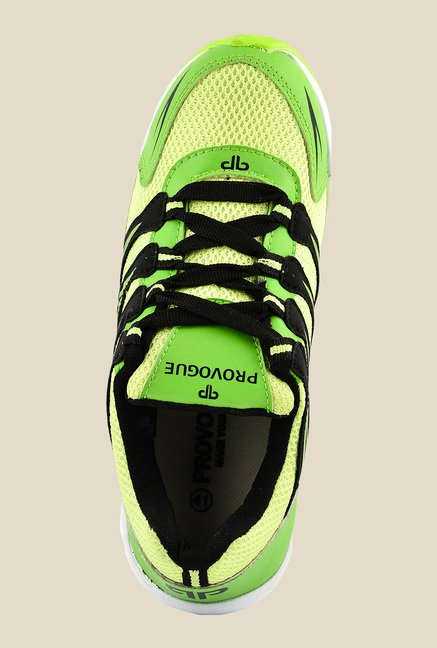 Provogue Green & Black Running Shoes