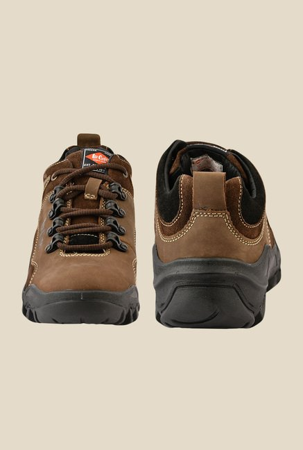 Lee Cooper Brown Casual Shoes