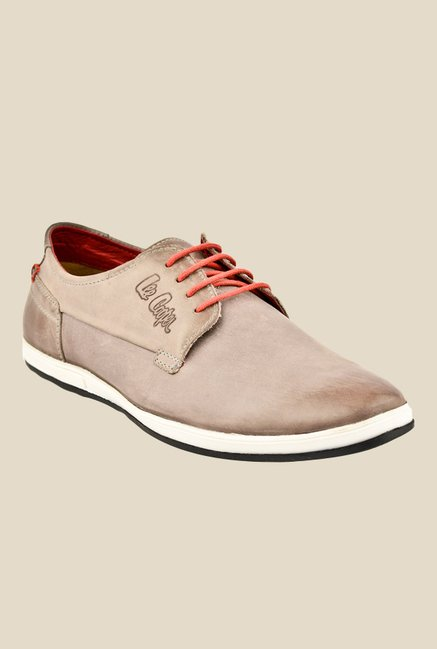 Lee Cooper Tan Derby Shoes