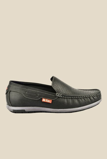 Lee Cooper Black Casual Loafers