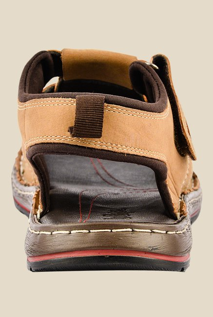Lee Cooper Tan Fisherman Sandals