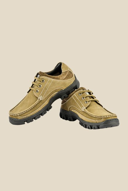 Lee Cooper Olive Derby Shoes
