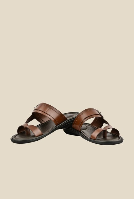 Lee Cooper Tan Casual Sandals