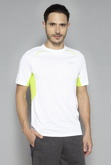 Westsport by Westside White Solid T Shirt