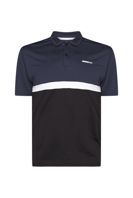 Westsport by Westside Multicolor Striped Polo T Shirt