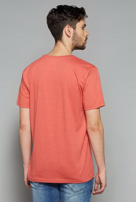 Nuon Men by Westside Coral Printed T Shirt