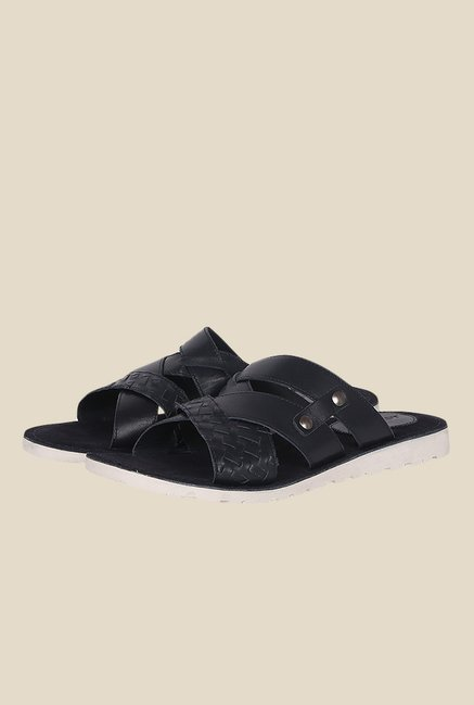 Toni Rossi Midnight Cross Strap Sandals