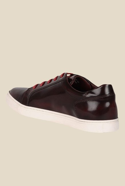 Toni Rossi Bordo & White Sneakers