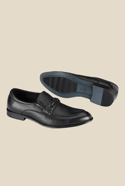 Tresmode Black Formal Shoes