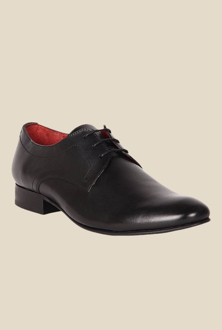 Toni Rossi Black Derby Shoes
