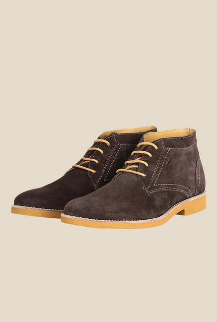 Toni Rossi Dark Brown Chukka Boots