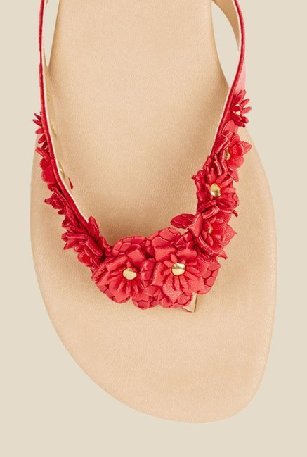 Oasis Coral Thong Sandals