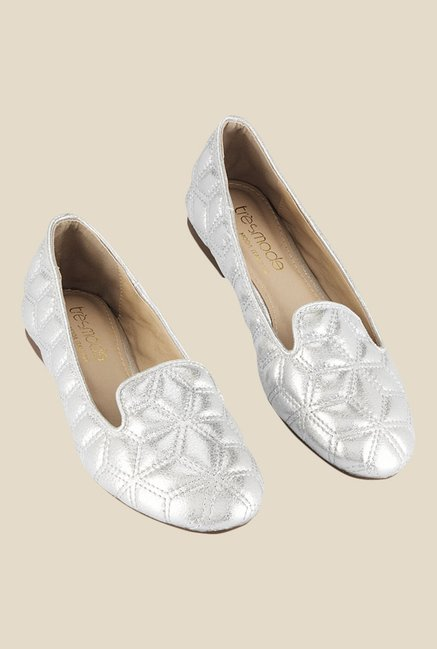 Tresmode Silver Flat Ballets