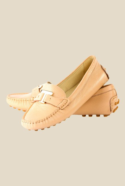 Tresmode Beige Casual Loafers